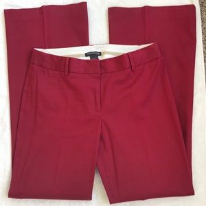 Kenneth Cole New York Kayla wide leg pants, red